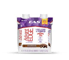 EAS AdvantEDGE Nutrition Shake Strawberrry Cream-4 pk