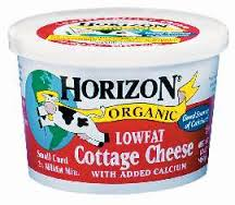 Horizon Organic Cottage Cheese-Low Fat