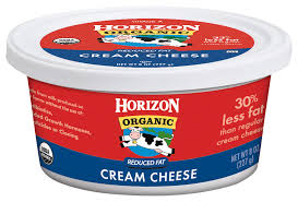 Horizon Organic Cream Cheese-Reduced Fat - 8 oz tub