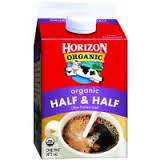 Horizon Organic Half & Half Chilled