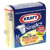 Kraft White American Slices
