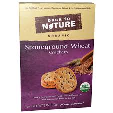Back To Nature Stoneground Wheat Crackers