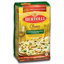 Bertolli Med Style-Rosemary Chicken Linguini & Cherry Tomatos