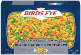 Birds Eye Fresh Frozen Mixed Vegetable Medley