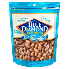 Blue Diamond Roasted Salted Almonds - 16 oz