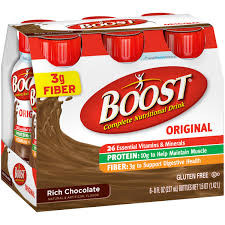 Boost Original Strawberry Nutritional Drinks-6 pk