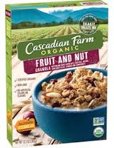 Cascadian Farm Organic Cereal Fruit & Nut Granola