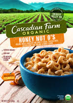 Cascadian Farm Organic Cereal Honey Nut O's