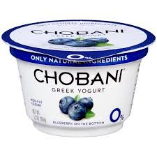 Chobani Greek Yogurt-Blueberry