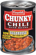 Campbell's Chunky Beef & Bean Chili