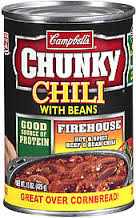 Campbell's Chunky Firehouse Hot & Spicy Beef Chili