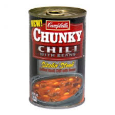 Campbell's Chunky Sizzlin Steak with Bean Chili