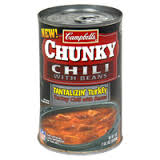 Campbell's Chunky Turkey with Beans Chili