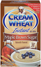 Nabisco Quick Cream of Wheat Maple Brown Sugar
