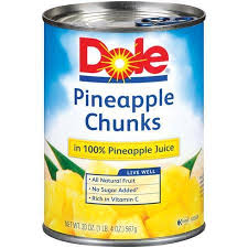 Dole Pineapple Chunks