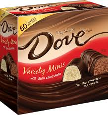 Dove Mini Bars with Chocolate Variety Pack