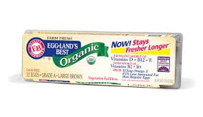 Egg-Lands Best Organic Cage Free Eggs-Brown