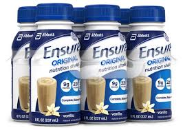 Ensure Original Milk Chocolate Nutrition Shake-6 pk