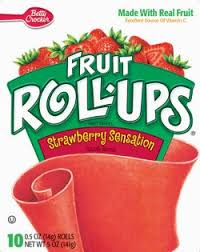 Betty Crocker Fruit Rollup Strawberry