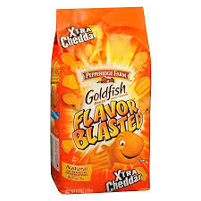 Pepperidge Farm Goldfish Crackers-Blasted Xtra Cheddar