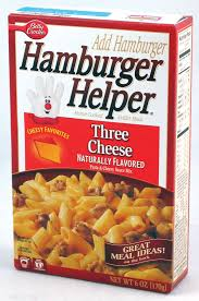 Hamburger Helper Cheesesteak