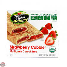 Health Valley Organic Strawberry Cobbler Cereal Bar