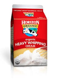 Horizon Organic Whipping Cream-Heavy
