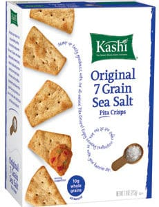 Kashi 7 Grain Sea Salt Pita Chips