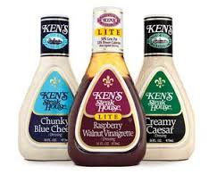 Ken's Steak House Balsamic & Basil Vinaigrette