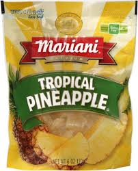 Mariani Dried Tropical Pineapple