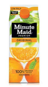 Minute Maid Premium Peach Juice