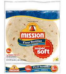 Mission Flour Tortillas-Large Burrito