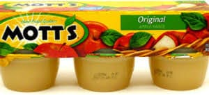 Mott's Natural Applesauce Cups 6 ct