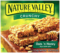 Nature Valley Crunchy Oats & Honey Granola Bars