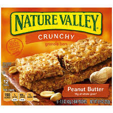 Nature Valley Crunchy Peanut Butter Granola Bars