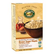 Natures Path Gluten Free Oatmeal Brown Sugar Maple