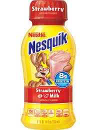 Nestle Nesquik Strawberry Milk - 8 oz