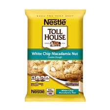 Nestle Toll House-White Chip Macadamia Nut Cookie Dough