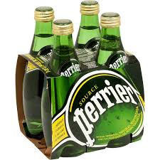 Perrier Sparkling Natural Mineral Water-4 pk