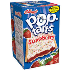 Kellog's Frosted Poptarts Strawberry