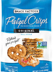 Snack Factory Original Pretzel Crisps-Original
