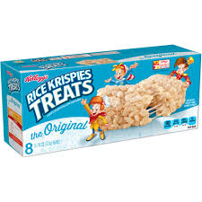 Kellogg's Rice Krispies Treats Variety 8 ct