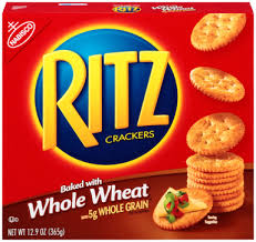 Nabisco Ritz Crackers-Whole Wheat