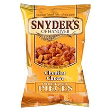 Snyder's of Hanover-Cheddar Pretzel Pieces