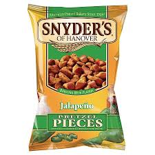 Snyder's of Hanover-Jalapeno Pretzel Pieces