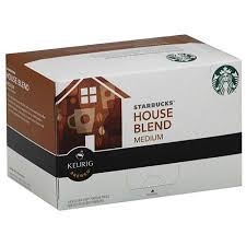 Keurig Starbucks Decaf House K-Cups
