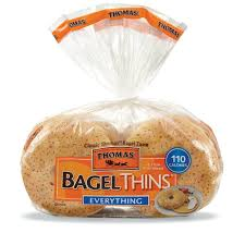 Thomas' Bagels-Everything Bagel Thins