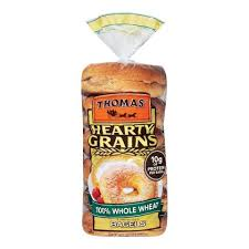 Thomas' Bagels-100% Whole Wheat