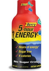 5-Hour Energy Berry Flavor