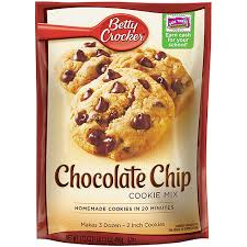 Betty Crocker Double Chocolate Chunk Cookie Mix Pouch